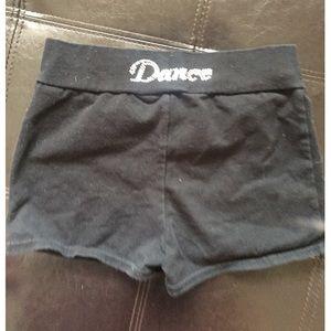 Capezio Rinestone Dance Shorts